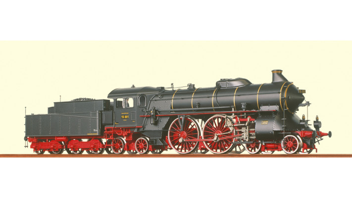 H0 Steam Loco BR 15 DRG, II,