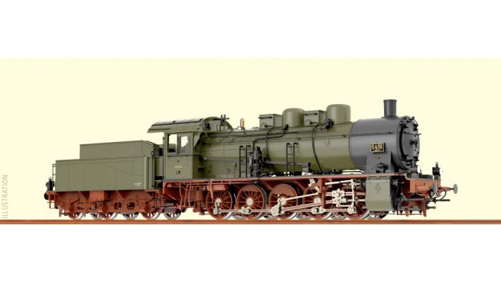 H0 Steam Loco G10 PStEV, I, AC