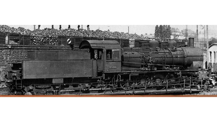 H0 Steam Loco BR 57.10 DRG, II, DC/SR
