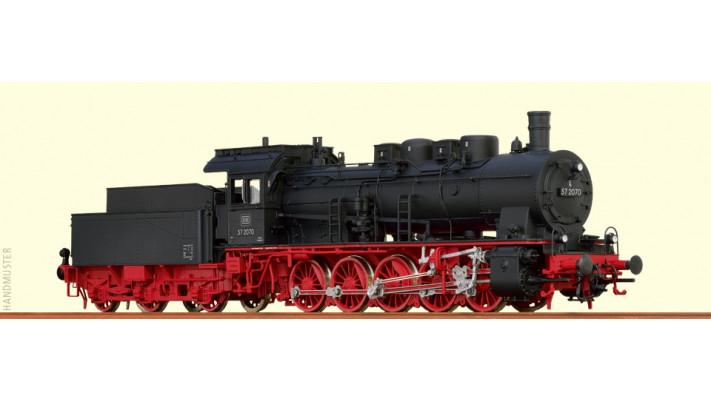 H0 Steam Loco BR 57.10 DB, III, AC/SR