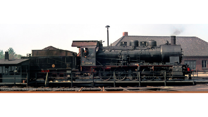 H0 Steam Loco BR 57.10 DR, III, DC/SR