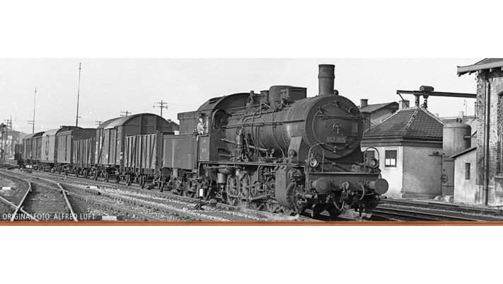 H0 Steam Loco BR 657 ÖBB, III, DC/SR
