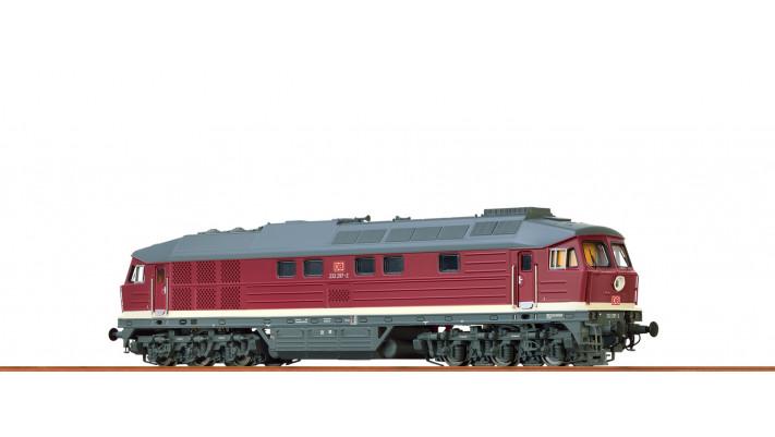 H0 Diesel Loco 232 DB, V, DC Dig. EXTRA
