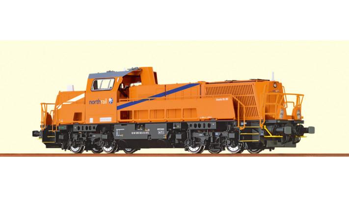 H0 Diesel Loco Grav. 15LBB NR