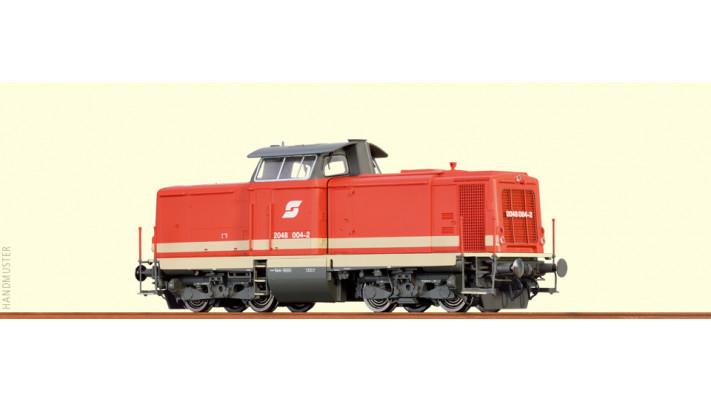 H0 Diesel Loco 2048 ÖBB, V, A