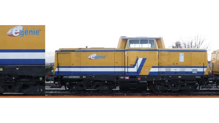 H0 Diesel Loco V100 E-Genie S