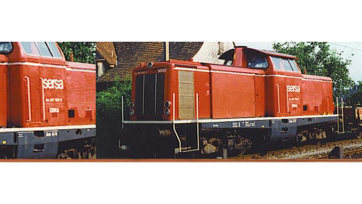 H0 Diesel Loco V100 Sersa, V,