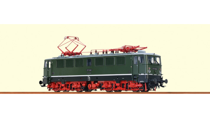 H0 Electric Loco E11 043 DR