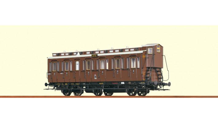 H0 Passenger Coach C3  KPEV,