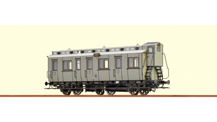 H0 Passenger Coach C3tr KPEV