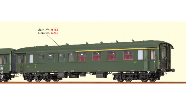 H0 Passenger Coach AB4yse-37/57 SNCF, III