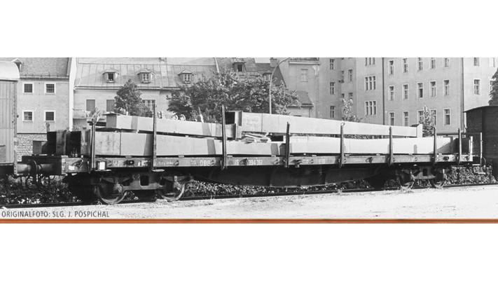H0 Freight Car SSlma 44 ÖBB