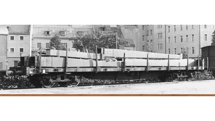H0 Freight Car SSlma 44 SNCF