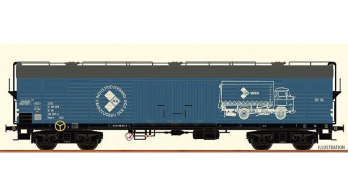 H0 Freight Car GGhrsz DR, IV