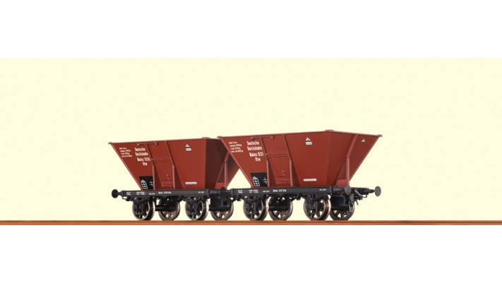H0 Coal Car DRG, II [set of 2