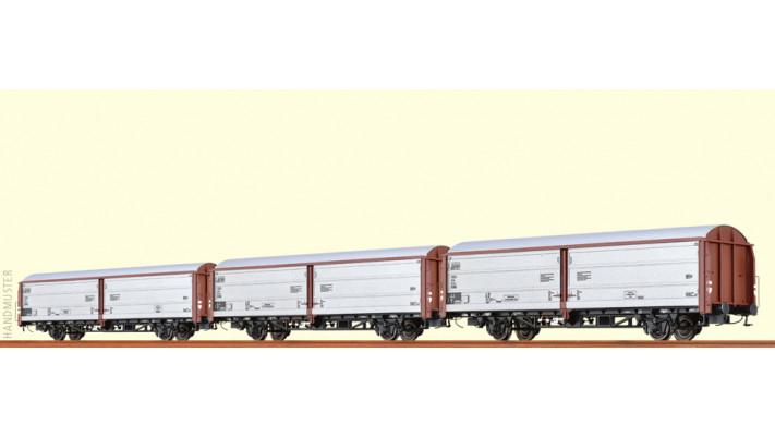 H0 Freight Car Hbis DB, III [