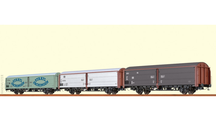 H0 Freight Car Hbis DB, IV [s