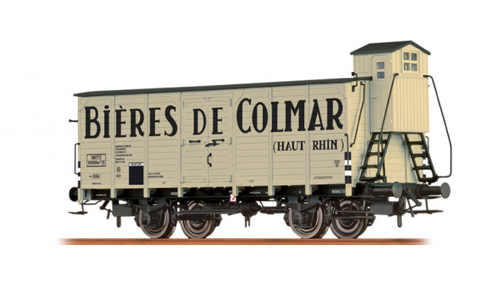 H0 Freight Car G10 sncf, II, colmar
