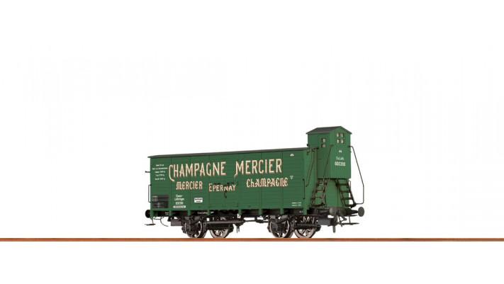 H0 Beer Car G10 Elsass, I, Champ. Mercier