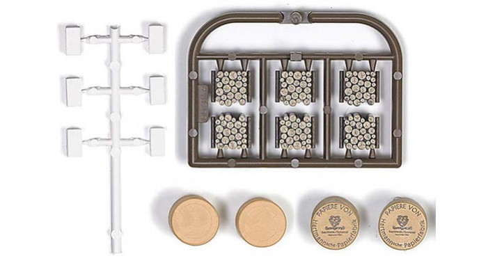 Kit Chargement de balles et de rouleaux de papier