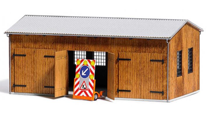 Garage pour véhicules routiers#