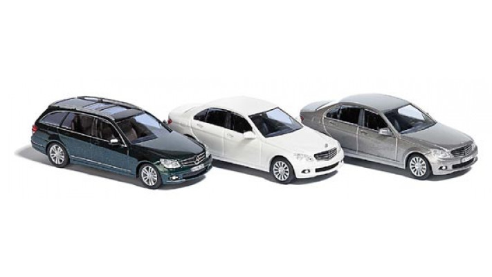 Mercedes - set de 3 voitures #