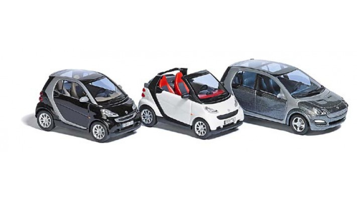 Smart - set de 3 voitures #
