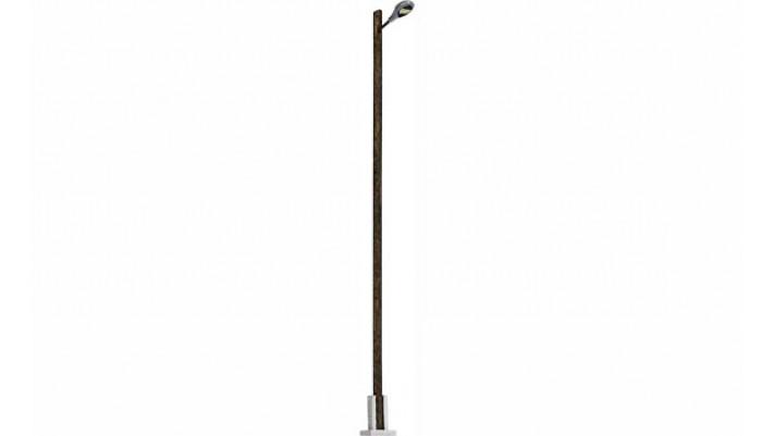 Lampe de gare  mât en bois 142 mm #
