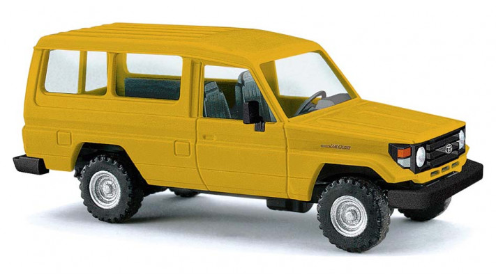 Toyota Land Cruiser HZJ78 jaune 1985#