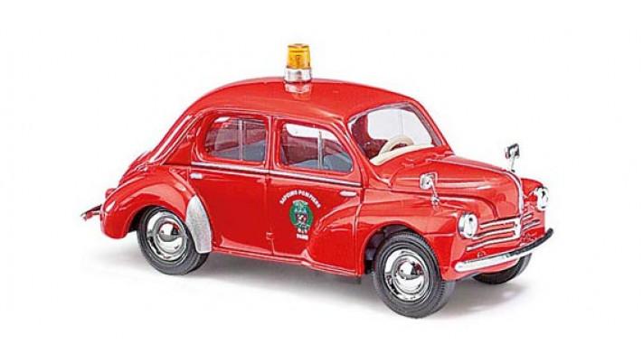 Renault 4CV pompier de Paris 1958#