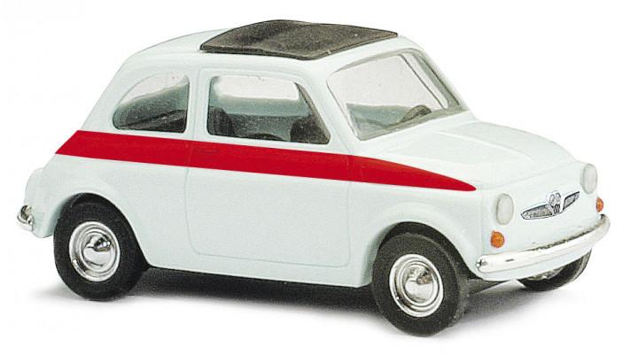 Fiat 500 sport blanche 1965