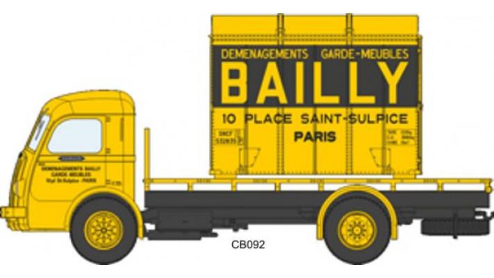 Panhard Movic Plateau BAILLY + Cadre Aérosudest BAILLY