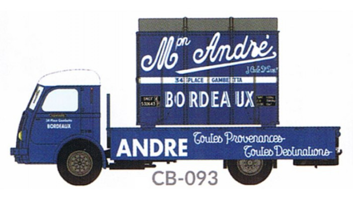 Panhard Movic Plateau ANDRE + Cadre Aérosudest ANDRE