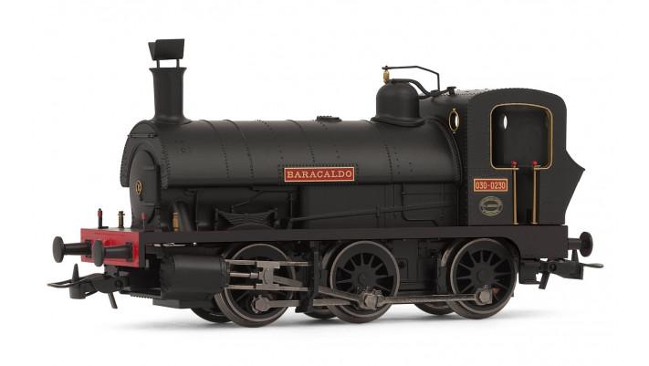 Spanish 030 steam locomotive  Baracaldos  in new livery
