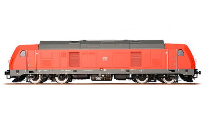 Diesellok, H0, BR 245-004, verkehrsrot, EP VI, Vorbildzustand um 2013