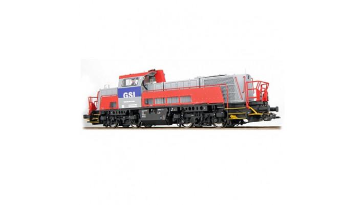 Diesellok, H0, GSI 261-308, fenstergrau, EP VI, Vorbildzustand um 2013
