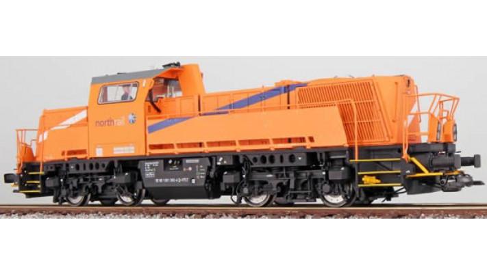 Diesellok, H0, BR 261, 261 302, Northrail, Ep VI, orange, Vorbildzusta