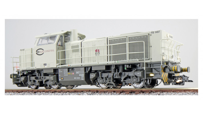 Diesel engine, H0, G1000, FB 1487 ECR, light grey, Sound
