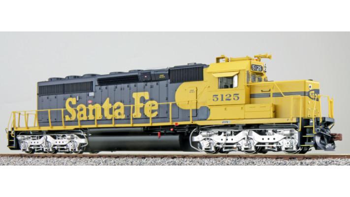 Diesellok, H0, SD40-2,  Santa Fe 5128, Ep IV/V, Sound, DC/AC