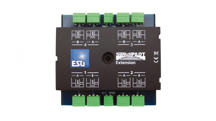 SwitchPilot Extension, 4xRelaisausgang, Erweiterung für SwitchPilot V1