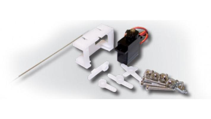 Servoantrieb, Präzisions-Miniaturservo, Metallgetriebe, mit Microcontr