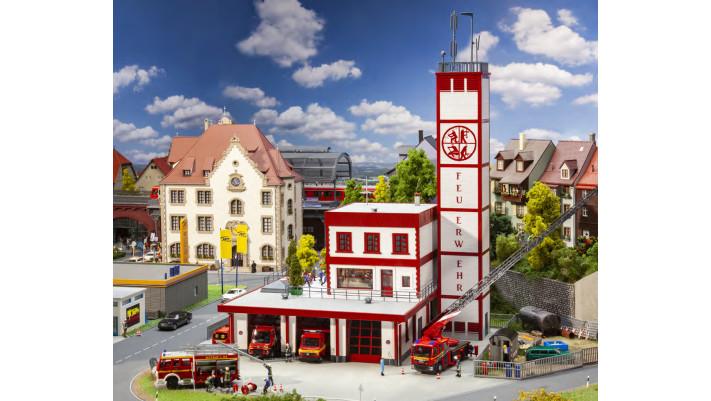 Poste de pompiers moderne