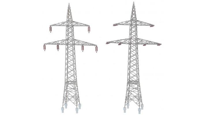 Pylônes de câbles aériens (2 P)
