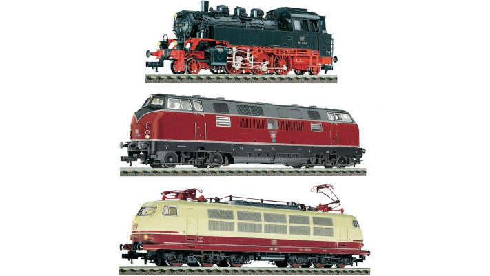 SET LOCOMOTIVES 125 ANS D