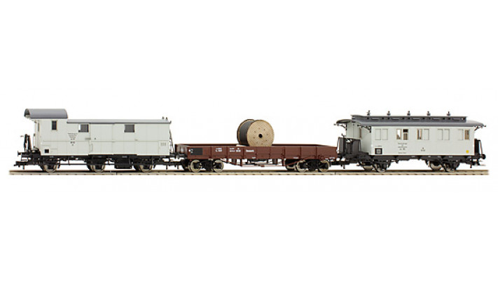 SET 3WAGONS TRAVAUX DSB