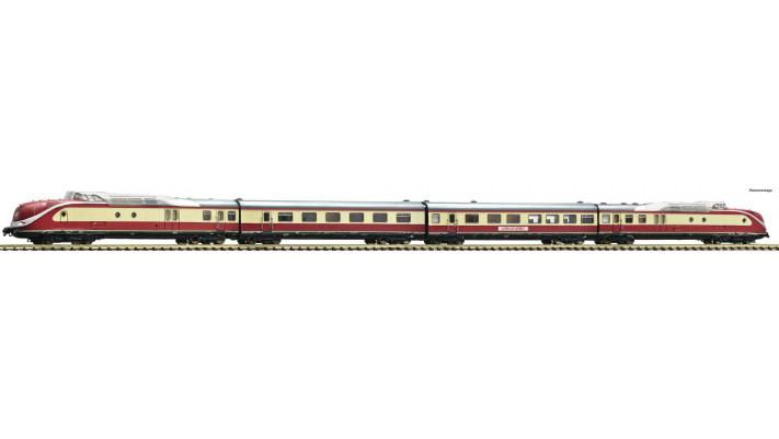 Coffret 4 pièces: Rame automotrice diesel série 601 «Alpen-See-Express