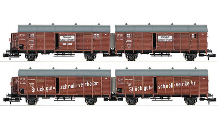 SET WAGONS DCC DRG
