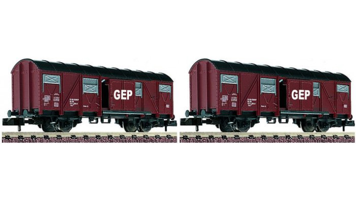SET WAGONS COUVERT DB
