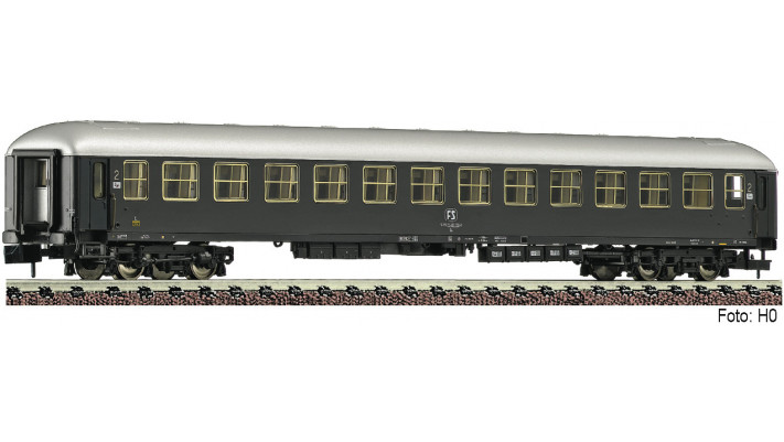 UIC-X Reisezugwagen 2.Kl., gra