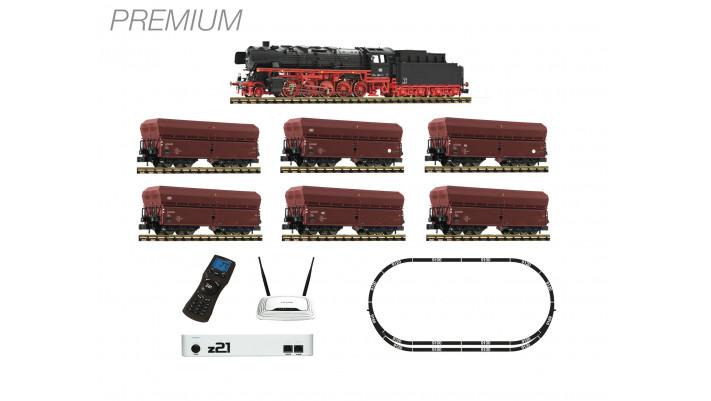 Coffret numérique z21 «FLEISCHMANN Premium»: Locomotive à vapeur sonor